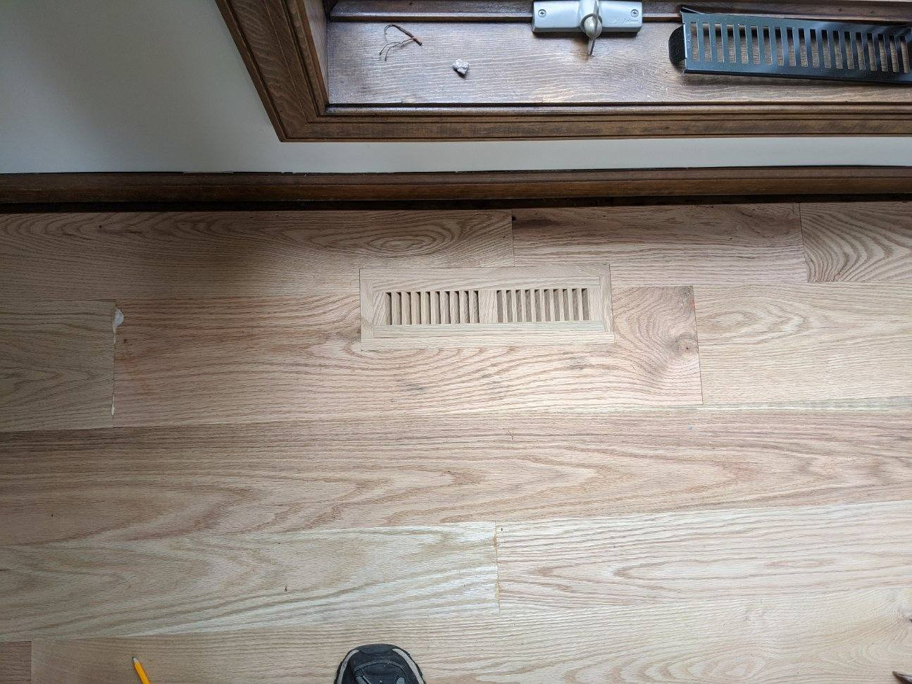 hardwood floor installation 2