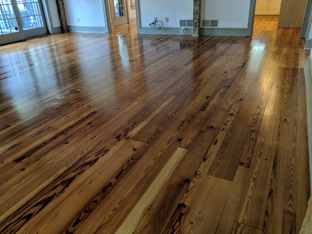 Heart Pine Floor Repair