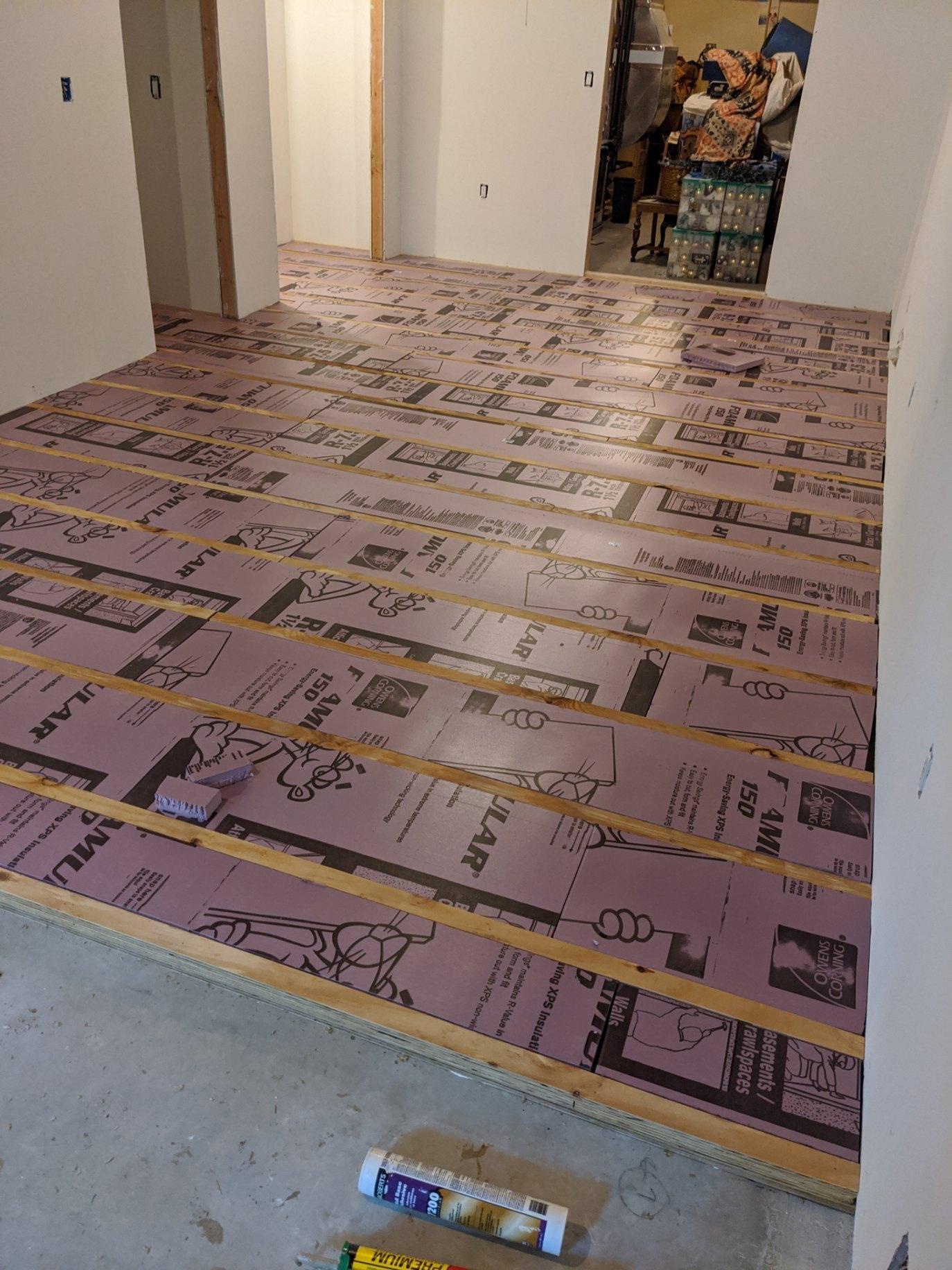 Suspended Floor 3