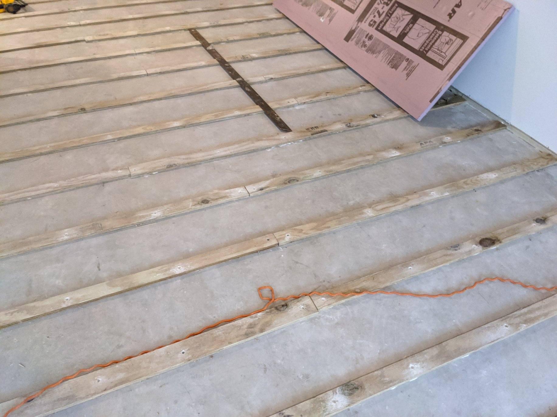 Suspended Floor 4