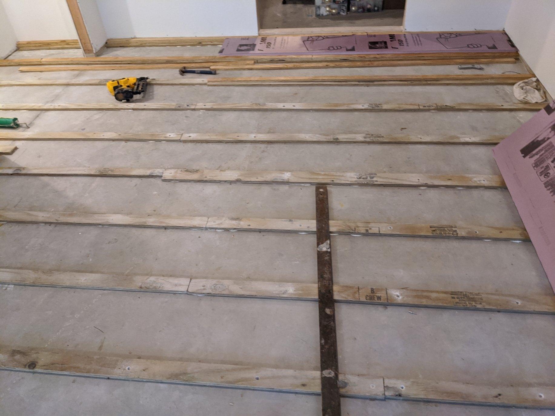 Suspended Floor 5