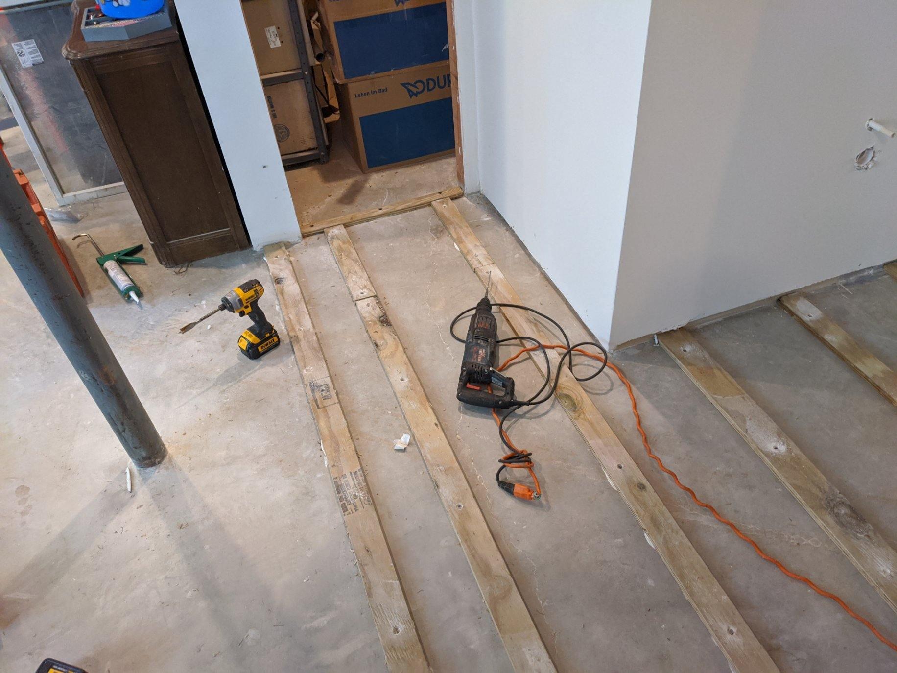Suspended Floor 6
