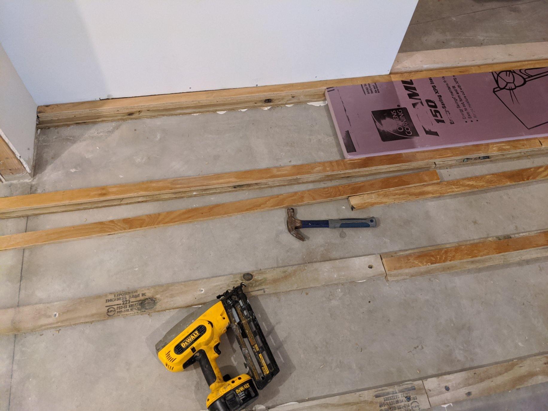 Suspended Floor 7