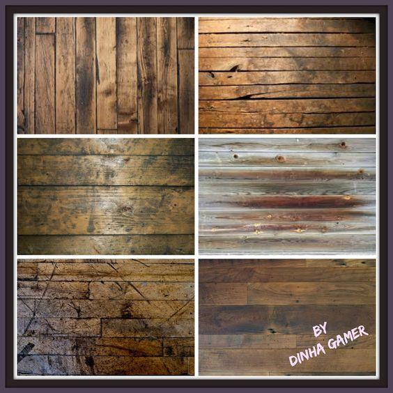 Rustic Flooring Examples via Pinterest